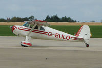 G-BULO @ EGBK - 1946 Luscombe 8F on the first day of the Luscombe and Cessna Historic Weekend Fly-in at Sywell UK