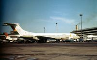 9G-ABO @ LHR - VC-10 operated by Ghana Airways seen at Heathrow in the Spring of 1975. - by Peter Nicholson