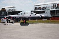 04-3716 @ LAL - T-6A Texan II at Sun N Fun - by Florida Metal