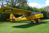 G-BLPG - Auster in CAF livery at Stoke Golding Fly-In