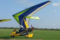 G-CBGG @ EGBK - Pegasus Quantum 15 At Sywell in May 2009