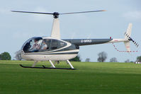 G-MRKS @ EGBK - Robinson R44 At Sywell in May 2009