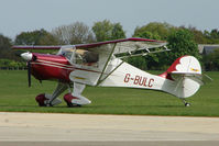G-BULC @ EGBK - Avid Speedwing At Sywell in May 2009