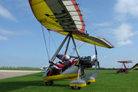 G-CBKE @ EGBK - Microlight At Sywell in May 2009