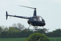 G-HURN @ EGBK - Robinson R22 At Sywell in May 2009