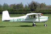 G-ARFO @ EGBK - Cessna 150A At Sywell in May 2009