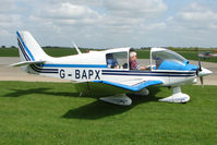 G-BAPX @ EGBK - Robin DR400/160 At Sywell in May 2009