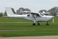G-CEKW @ EGBK - Jabiru J430 at Sywell in May 2009 - by Terry Fletcher