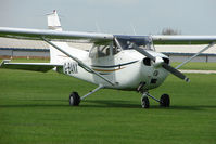 G-BANX @ EGBK - Cessna F172M at Sywell in May 2009