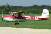 G-ASST @ EGBK - Cessna 150D at Sywell in May 2009