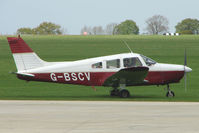 G-BSCV @ EGBK - Piper PA-28-161 at Sywell in May 2009