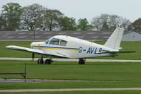 G-AVLB @ EGBK - Piper PA-28-140 at Sywell in May 2009