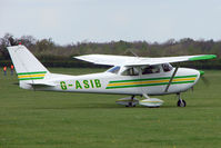 G-ASIB @ EGBK - Cessna F172D at Sywell in May 2009