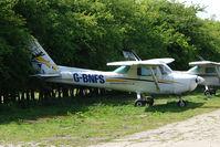 G-BNFS @ EGBM - Cessna 152 at Tatenhill - by Terry Fletcher