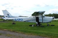 G-CFCI @ EGBD - Cessna F172N at Derby Eggington