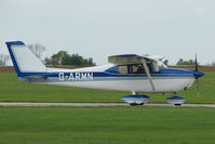 G-ARMN @ EGBK - Cessna 175B at Sywell in May 2009
