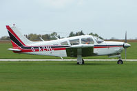 G-AZNL @ EGBK - Piper PA-28R-200-2  at Sywell in May 2009