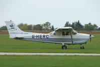 G-HERC @ EGBK - Cessna 172S At Sywell in May 2009
