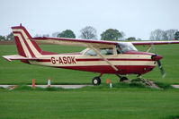 G-ASOK @ EGBK - Cessna F172E at Sywell in May 2009