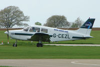 G-CEZL @ EGBK - Piper PA-28-161 at Sywell in May 2009