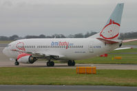G-TOYB @ EGCC - Taxiiing to stand at Manchester. - by Andrew Simpson