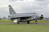 XS899 @ EGXB - Lightning F.6 taxies for take off at RAF Binbrook