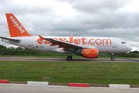 G-EZIA @ EGGW - Easyjet A319 at Luton - by Terry Fletcher