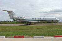 5N-FGS @ EGGW - Nigerian Air Force Gulf 5 at Luton - by Terry Fletcher