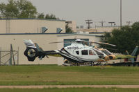 N517JS @ GPM - At Europcopter - Grand Prairie, TX - by Zane Adams