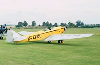G-AFCL @ EGTH - BA Swallow 2 at the 1998 Shuttleworth Pageant
