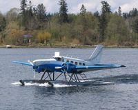 C-GVIB - Modified Beech 18, Seawind, Campbell River B.C. Spit, Destroyed Take Off Accident 2007/10/26 - by Caswell_John