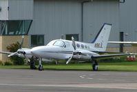 N96JL @ EGBJ - Cessna 421C at Staverton