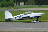 G-PBEC @ EGBP - at Kemble on Great Vintage Flying Weekend