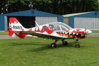 G-RNRS @ EGBP - Bulldog Series 100 at Kemble on Great Vintage Flying Weekend