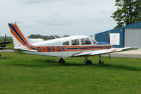 G-BFDK @ EGBP - Piper PA-28-161 at Kemble on Great Vintage Flying Weekend