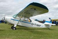 G-TIMP @ EGBP - 1948 Aeronca 7BCM at Kemble on Great Vintage Flying Weekend