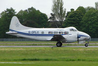 G-OPLC @ EGBP - 1948 Mayfair Dove giving pleasure flights at Kemble on Great Vintage Flying Weekend