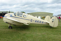 G-AKKH @ EGBP - 1947 Miles M65 Gemini 1A at Kemble on Great Vintage Flying Weekend