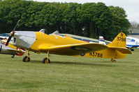 G-AKPF @ EGBP - N3788 - 1941 Miles M14A Hawk Trainer 3 at Kemble on Great Vintage Flying Weekend