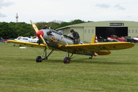 G-BYPY @ EGBP - 1941 Ryan ST3KR at Kemble on Great Vintage Flying Weekend