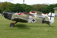 G-BNPV @ EGBP - Bowers Fly Baby at Kemble on Great Vintage Flying Weekend