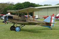 G-CCBN @ EGBP - Replica SE5A at Kemble on Great Vintage Flying Weekend