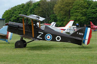 G-BDWJ @ EGBP - Replica SE5A at Kemble on Great Vintage Flying Weekend