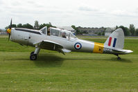 G-BBND @ EGBP - WD 286 1950 DHC-1 Chipmunk 22 at Kemble on Great Vintage Flying Weekend