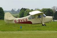 G-BVCS @ EGBP - 1946 Aeronca 7AC at Kemble on Great Vintage Flying Weekend