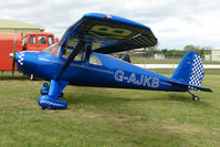 G-AJKB @ EGBP - 1946 Luscombe 8E at Kemble on Great Vintage Flying Weekend