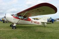 G-AKUO @ EGBP - 1946 Aeronca 11AC at Kemble on Great Vintage Flying Weekend