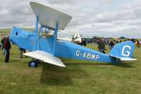 G-ABWP @ EGBP - 1932 Spartan Arrow at Kemble on Great Vintage Flying Weekend