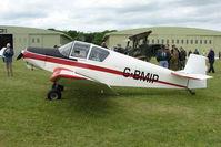 G-BMIP @ EGBP - Visiting Jodel D112 at Kemble on Great Vintage Flying Weekend