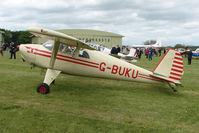G-BUKU @ EGBP - 1947 Luscombe 8Eat Kemble on Great Vintage Flying Weekend